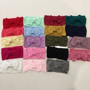 Other - Super cute nylon baby headbands!!